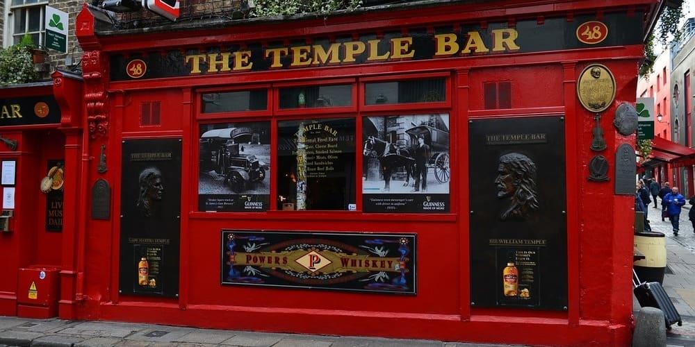 El Temple Bar, la zona con los mejores pubs de Dublín