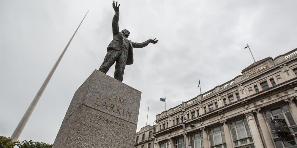 El Spire de Dublín, un símbolo de luz