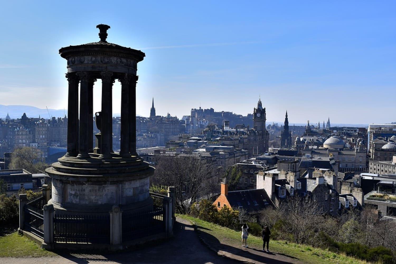 Calton Hill, la colina más famosa de Edimburgo