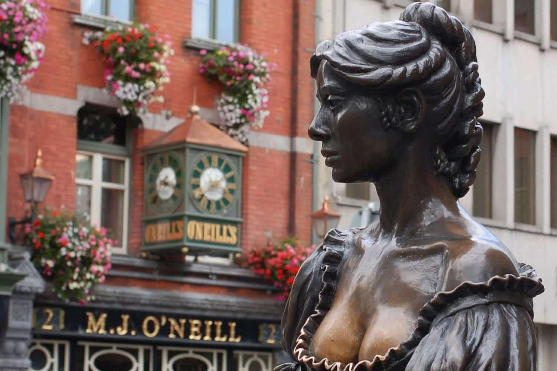Estatuas en Dublín: las mejores esculturas de la ciudad