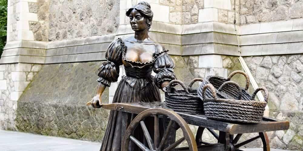 Esculturas en Dublín imprescindibles - Molly Malone
