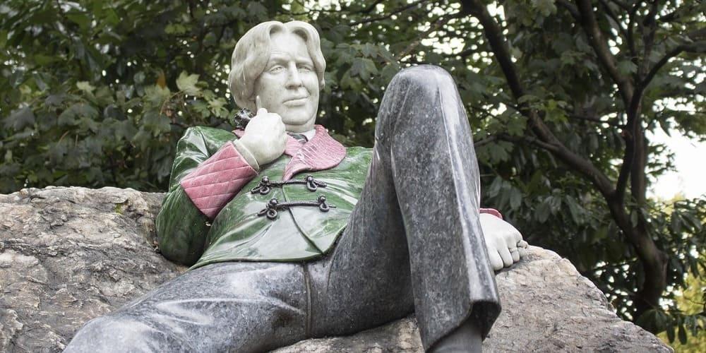 Oscar Wilde, una de las estatuas de Dublín más famosas