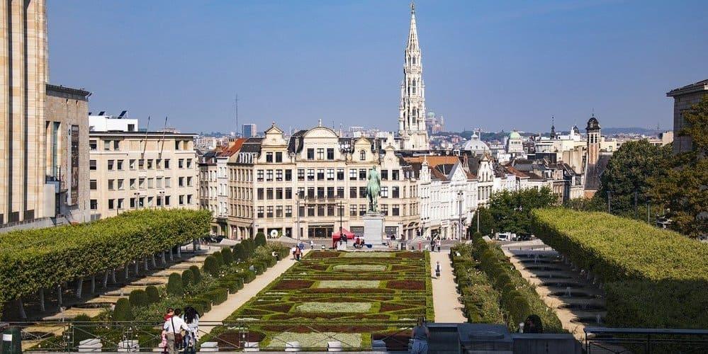 Visitar el Mont des Arts en un fin de semana por Bruselas
