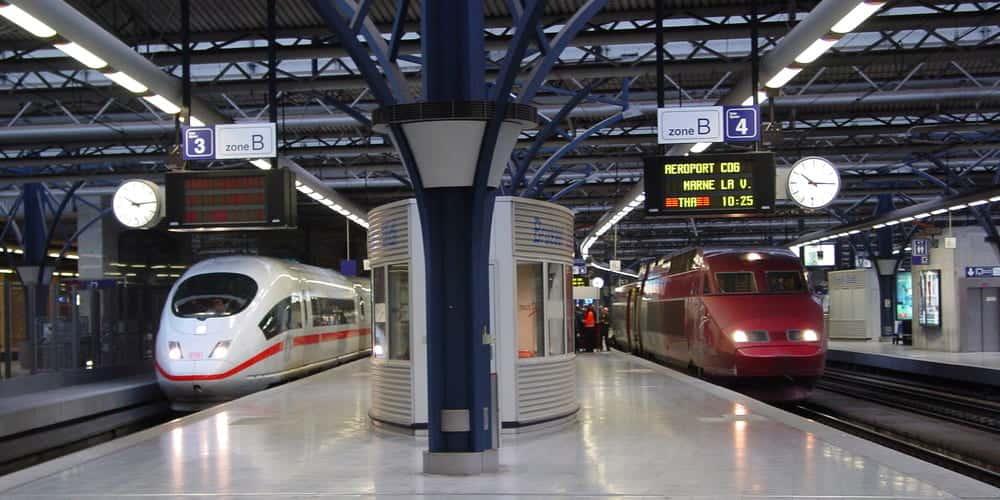 Gare du Midi Bruselas - Información de la estación