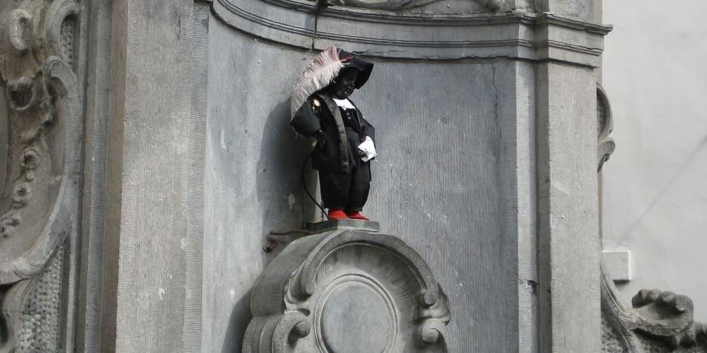 El Manneken Pis, símbolo de la capital belga
