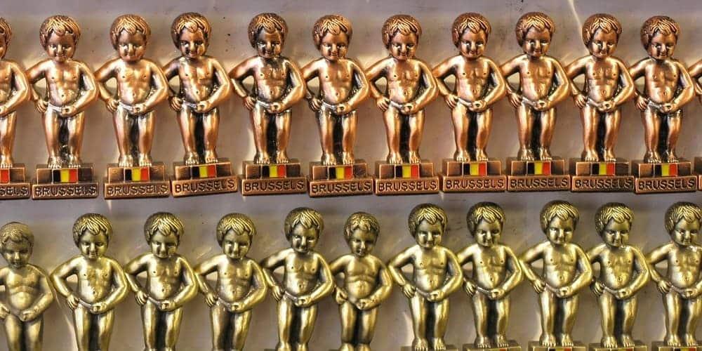 Souvenirs del niño meón de la capital de Bélgica