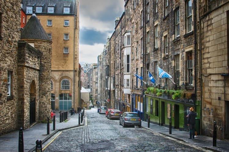 Vistas de la calle Mary King Close