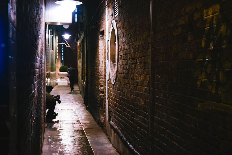 Uno de los callejones de Mary Kings Close