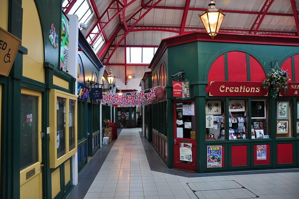 El único mercado cubierto de Inverness