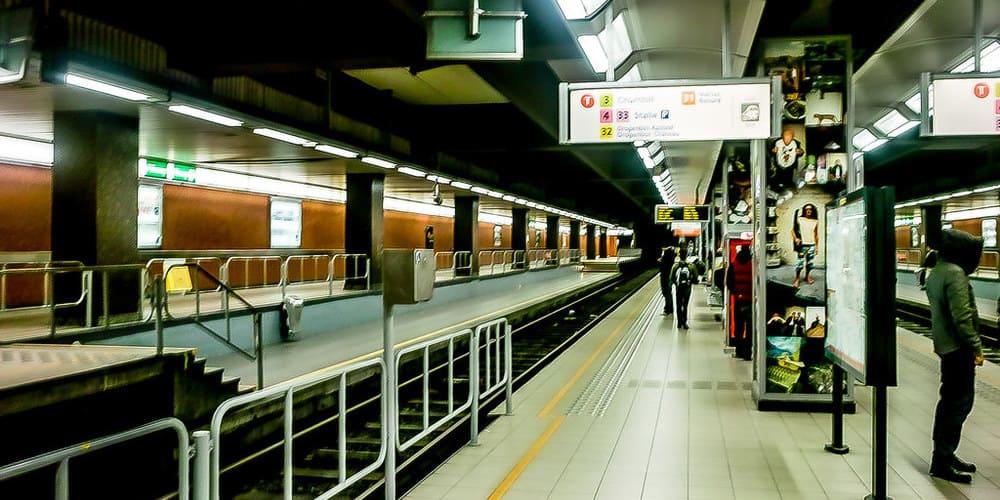Líneas y rutas del metro de Bruselas