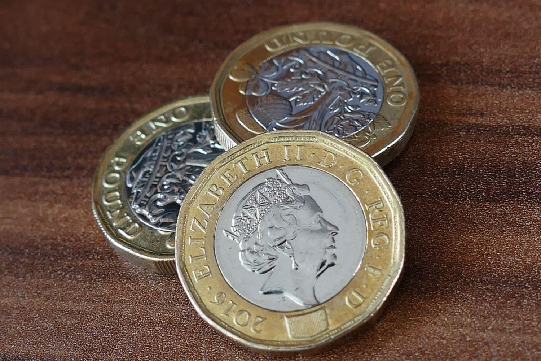 Monedas de Libra en Escocia