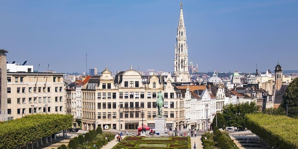 Cómo llegar y parking del Mont des Arts de Bruxelles