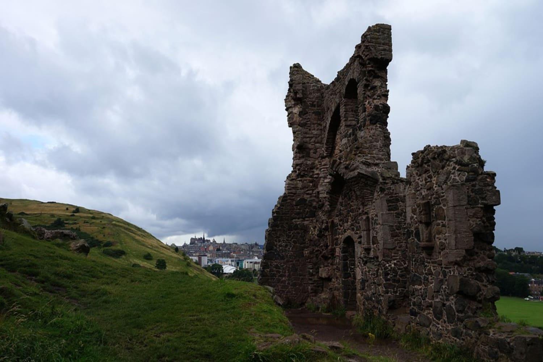 Ruinas de la Abadía de Edimburgo