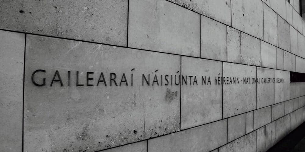 La Galerís Nacional de Irlanda, uno de los museos de Dublín más interesantes