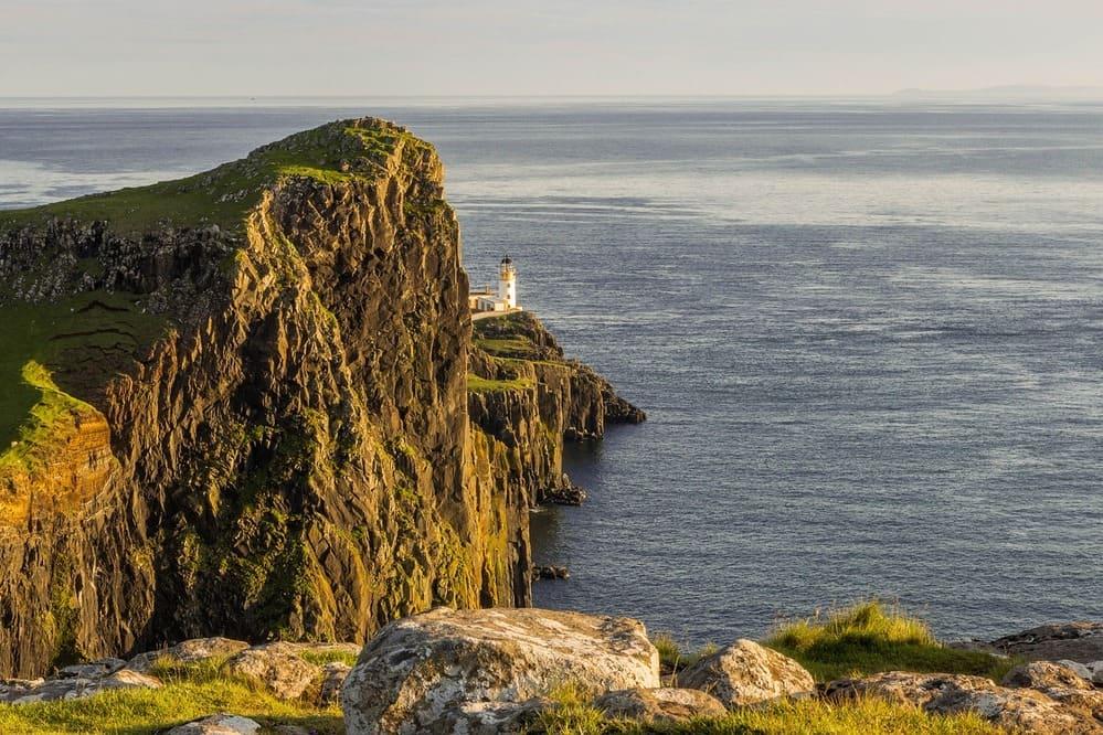 El punto más al norte de la isla con el famoso faro.