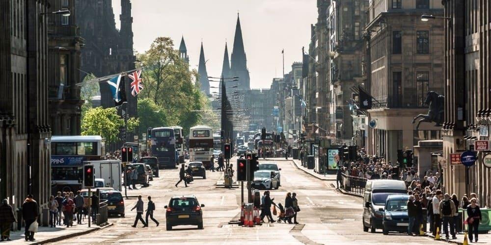 Imprescindibles de la New Town de la capital de Escocia