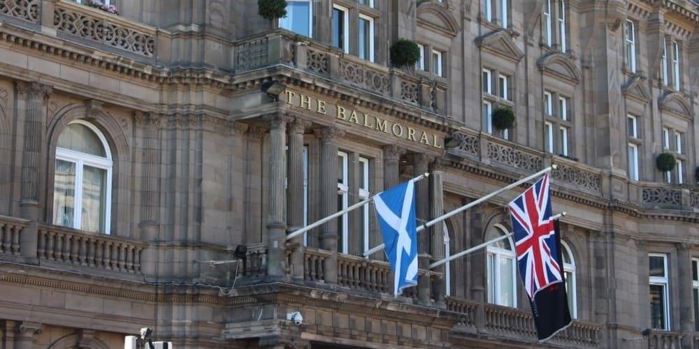 Hotel Balmoral en New Town en Edimburgo