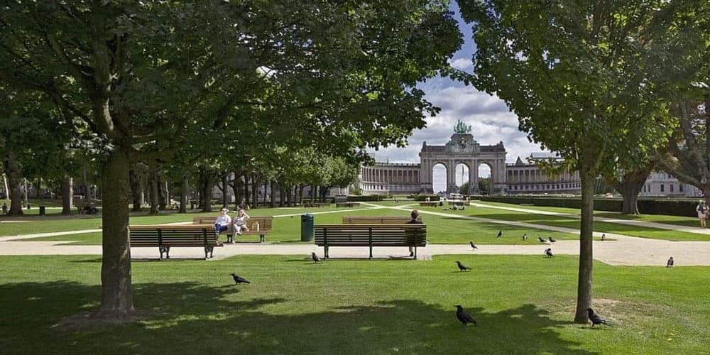 El Parque del Cincuentenario de Bruselas, uno de los espacios verdes más importantes