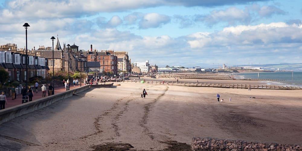Playa de Portobello, la playa de Edimburgo