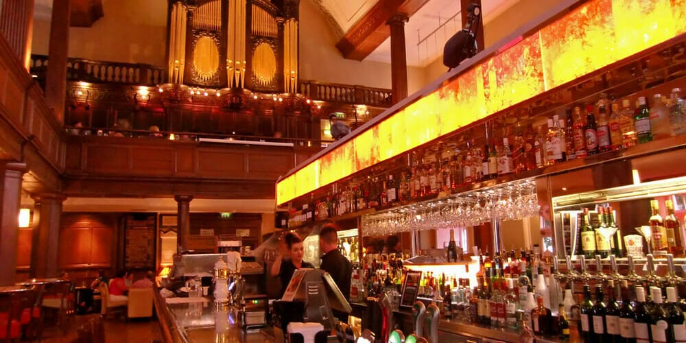 Menú de The Church, la iglesia, Café Bar Restaurante