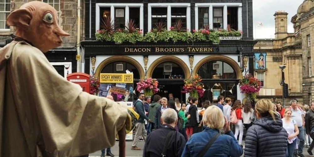 La taberna de Deacon Brodie en Edimburgo
