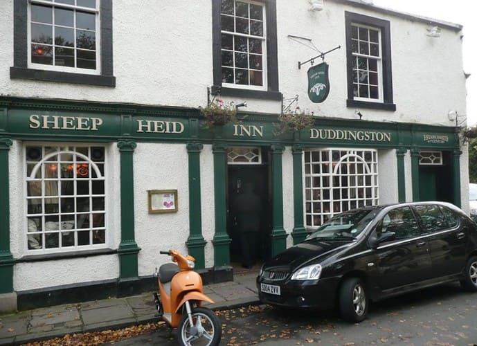 The Sheep Heid Inn - pub de la capital de Escocia