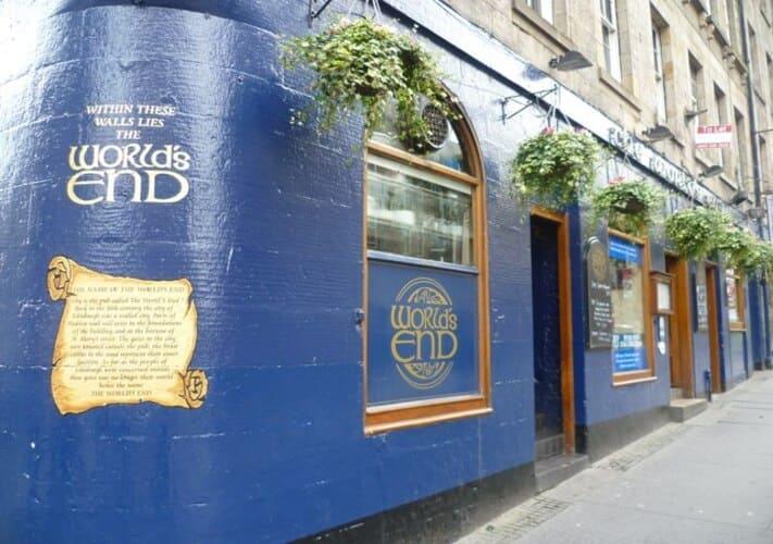 Pubs de Edimburgo famosos: The World's End