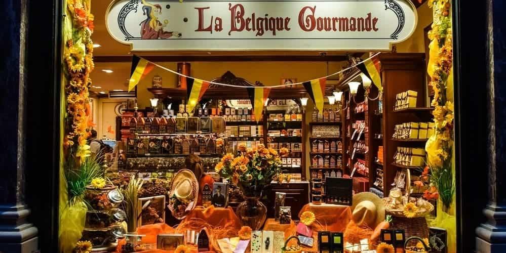 Chocolate, un producto típico que comprar en Bruselas
