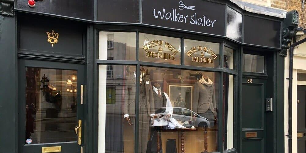 Mejores tiendas de ropa de Edimburgo - Walker Slater