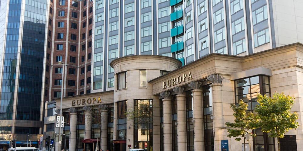 Qué ver en Belfast - el Hotel Europa