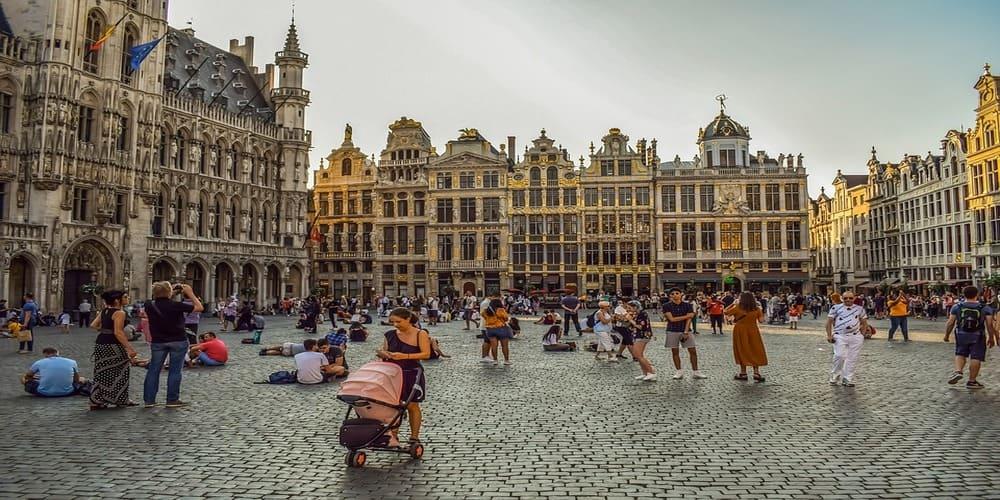 La plaza más importante de Bruselas