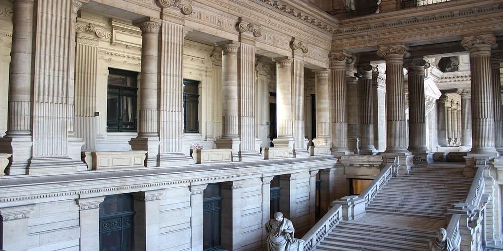 Algo que ver en Bruselas en 1 día es el Palacio de Justicia