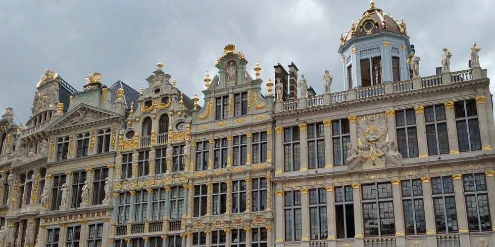 Centro de la ciudad de Bruselas