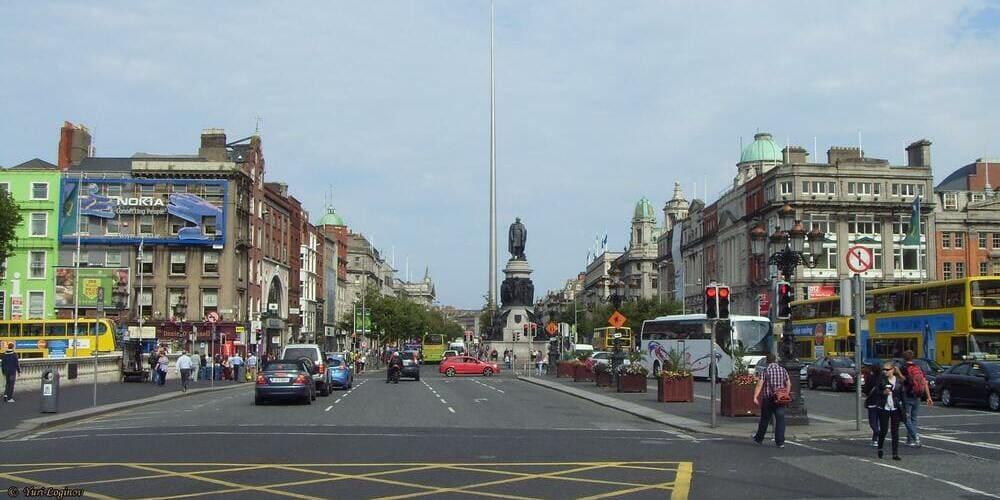 Qué ver en Dublin en un día - O'Connell Street