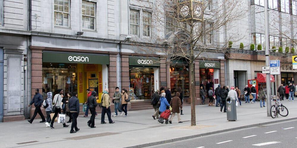 Visita O'connell Street en tu visita a Dublín de dos días