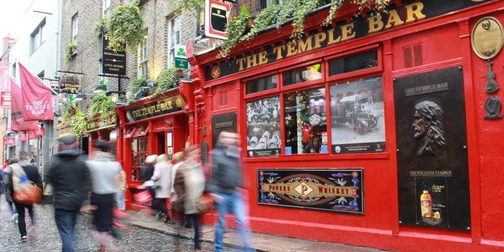 Qué hacer en 3 días en Dublín - visitar el Temple Bar