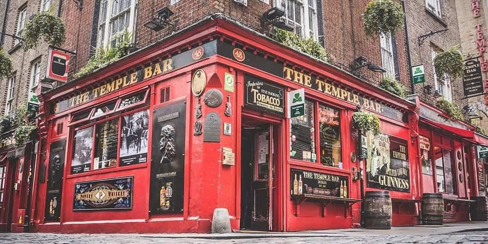 Temple Bar, una de las zonas más famosas de la capital de Irlanda