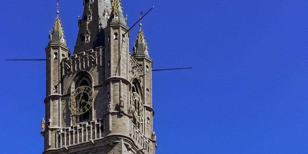 La torre Belfort es uno de los edificios más impresionantes para ver en Gante en 1 día