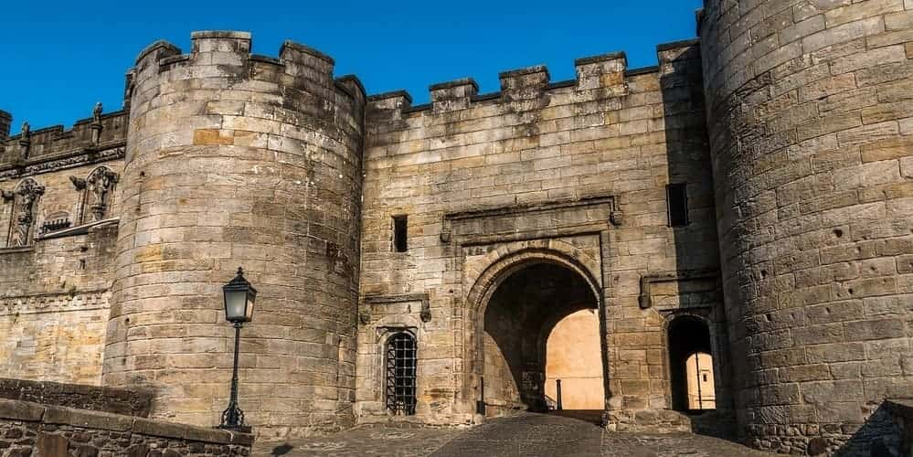 El castillo de Stirling, una ciudad escocesa