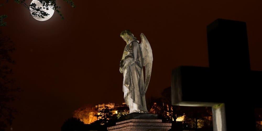 Qué ver en Stirling - cementerio e iglesia Holy Rude