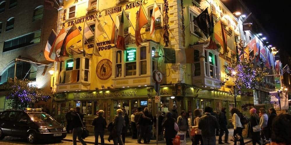 Temple Bar de Dublín - Conoce los mejores pubs y tiendas