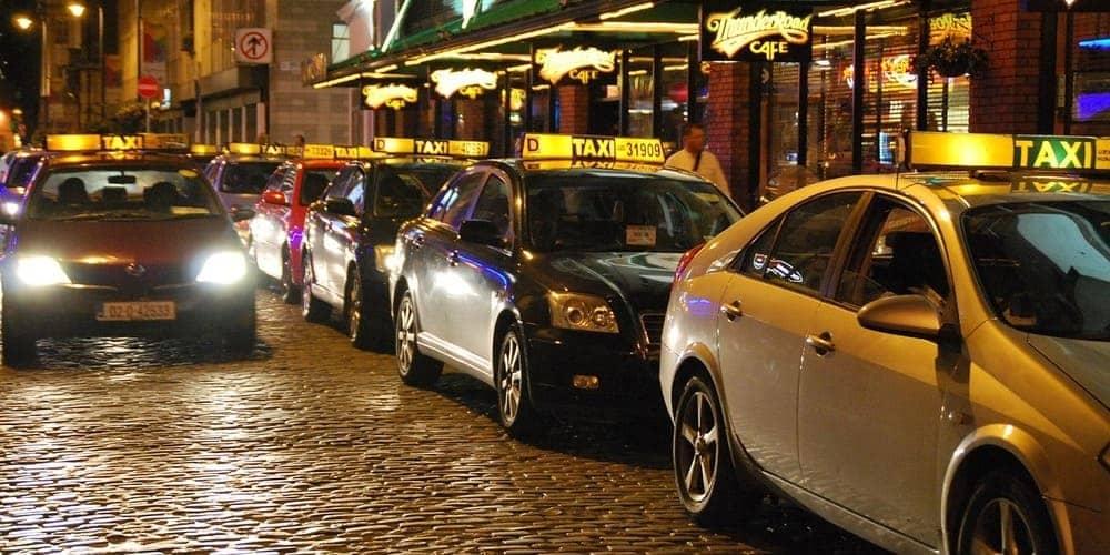 Información sobre el taxi de la capital irlandesa