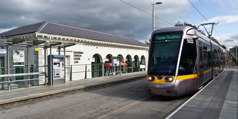 Líneas del Luas de Dublín: roja y verde