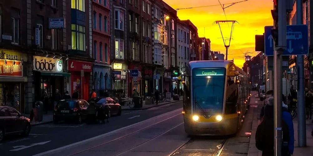Horarios y frecuencia del Luas de Dublín