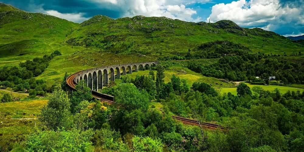 Ruta del Jacobite, el tren de Harry Potter