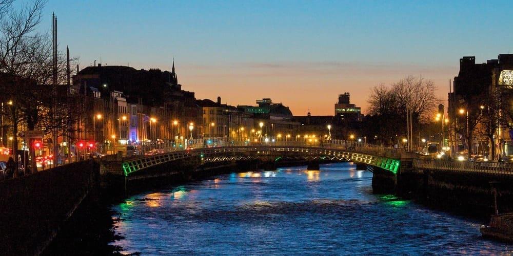 División de Dublín: áreas, distritos y zonas