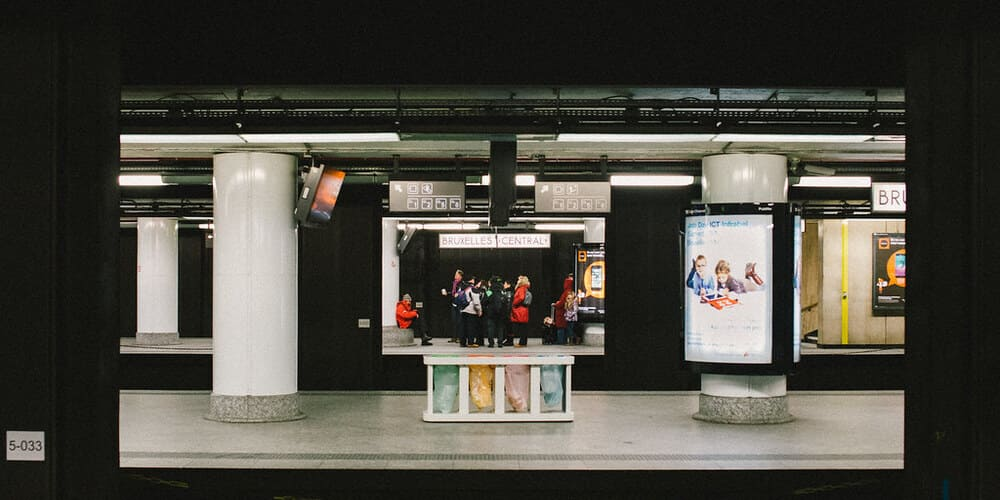 Gare Central de la capital de Bélgica