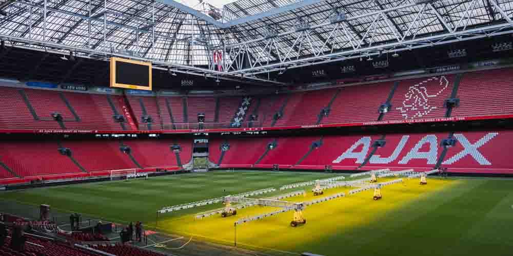 Ámsterdam Arena, el estadio del Ajax.