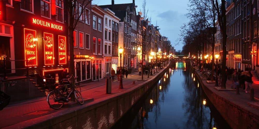 El Barrio Rojo, uno de los barrios de Ámsterdam más famosos