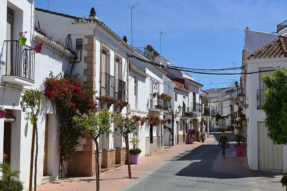 Calles del pueblo de Estepona
